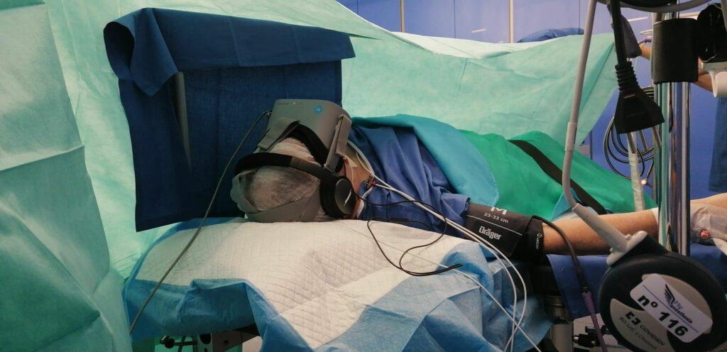 Hypnose médicale pendant une opération